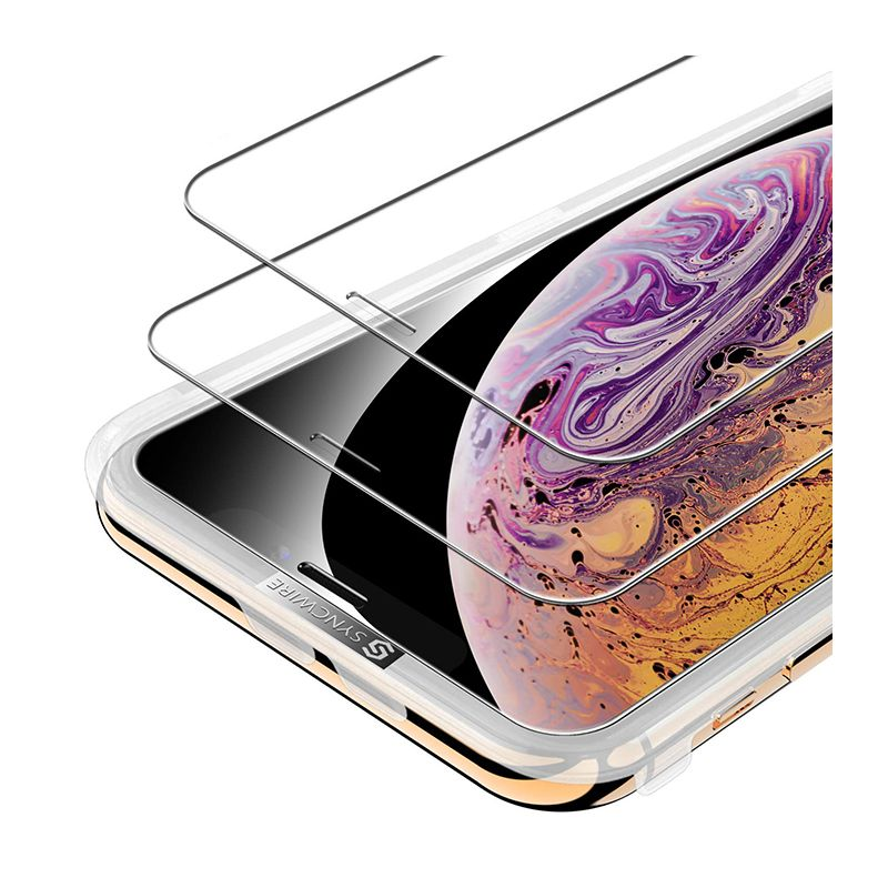 Syncwire Защитное стекло 0.33мм 2шт для iPhone Xs Max / iPhone 11 Pro Max SW-SP189