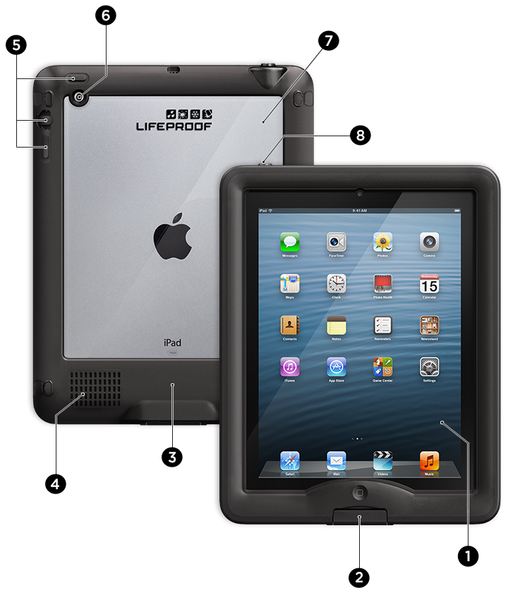 Eight Levels of Protection with LifeProof iPad nüüd